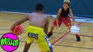Julian Newman & John Mobley Jr Workout - Ball Handling & Shooting Drills Basketball
