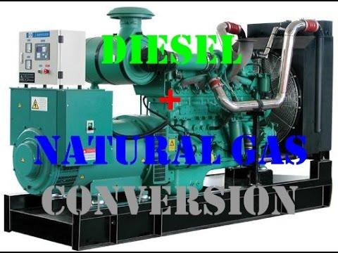**Results** Diesel Generator Converted to Diesel Natural Gas Duel Fuel (FULL VIDEO)