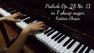 Prelude Op. 28 No. 13 in F sharp major (Chopin)