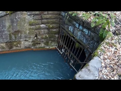 Abandoned Jeddo Mine Tunnel Spews Toxic Water Near Hazleton And Drums, Pa