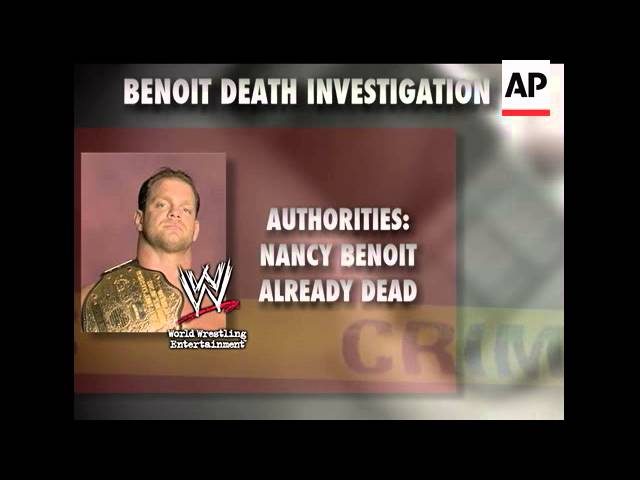 Co Workers Received A Series Of Eerie Phone Calls And Text Messages From Wwe Wrestler Chris Benoit Youtube