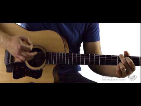 Chattahoochee - Guitar Lesson and Tutorial - Alan Jackson