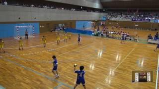 5日 ハンドボール女子 国体記念体育館Cコート 玉野光南×日大山形 1回戦 2