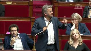 Alexis Corbière donne un petit cours d'Histoire à l'Assemblée...