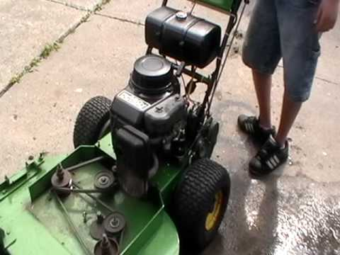 Adjusting Some Of The Belts On My Deere Youtube. Adjusting Some Of The Belts On My Deere. John Deere. John Deere Wg48a Lawn Mower Electrical Diagram At Scoala.co