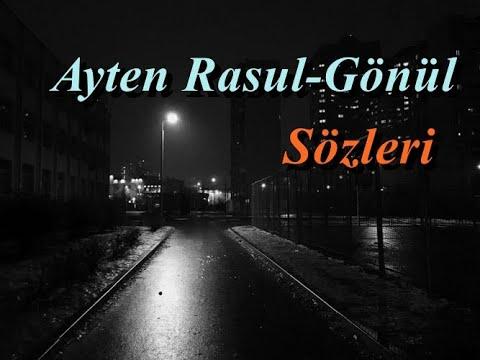 Ayten Rasul - Gönül