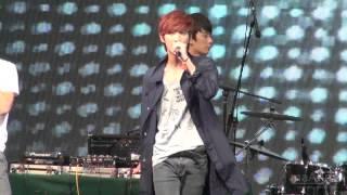 [FANCAM] 120929 B1A4 진영 (Jinyoung) - BABY I