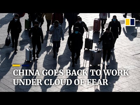 Facing the return to work with dread as coronavirus deaths in China overtake Sars