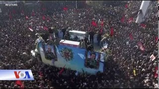 Đưa tang Tướng Iran, hàng chục người chết vì bị giẫm đạp (VOA)