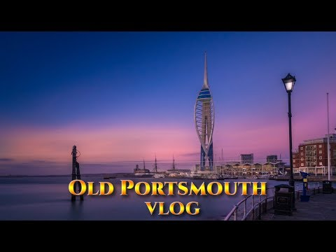 SPINNAKER TOWER AGAIN - FROM OLD PORTSMOUTH - VLOG