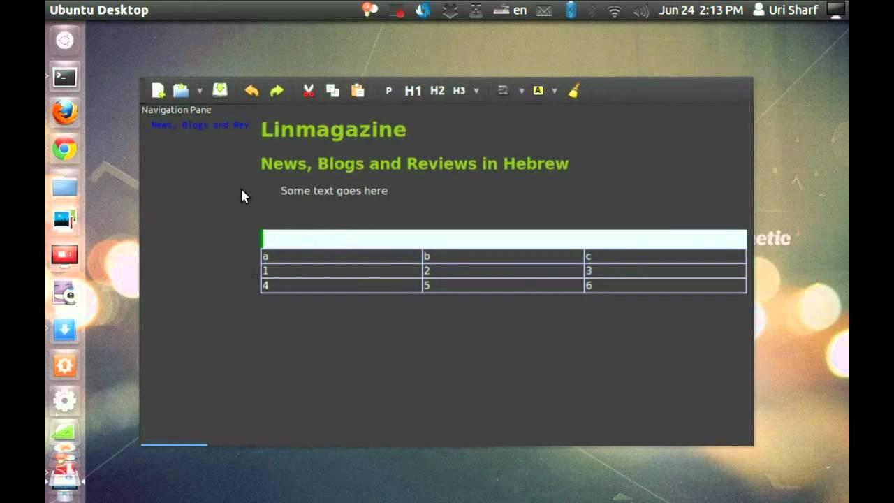 GWrite HTML5 WYSIWYG Editor for Linux