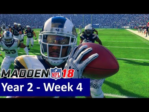 6605ae36 Madden 18 Los Angeles Rams Franchise – vs Los Angeles Chargers ...