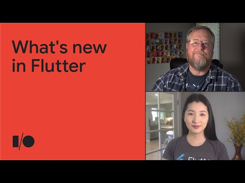 What's new in Flutter | Keynote