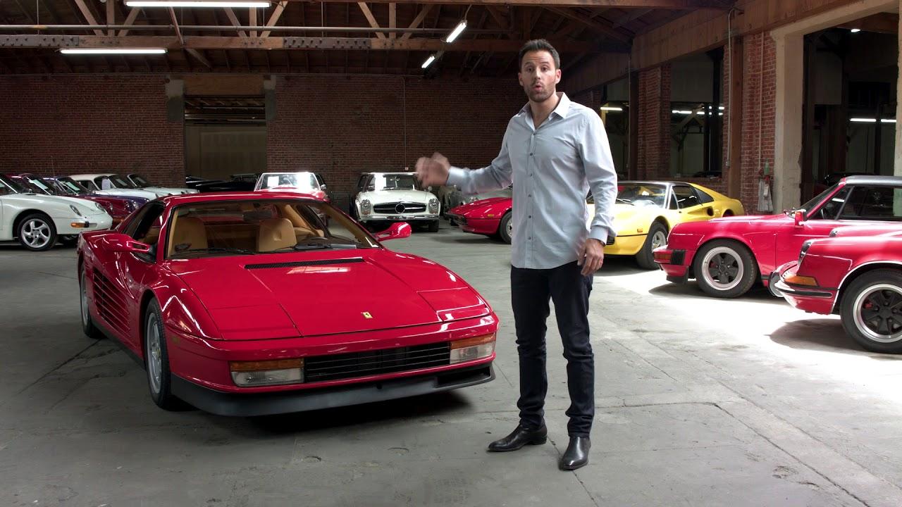 Ferrari Testarossa Alex Manos Youtube