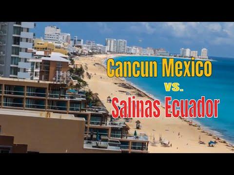Cheapest Beach Rentals: Cancun Mexico or Salinas Ecuador? TRAVEL TIPS VLOG