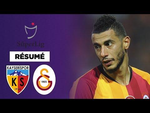Résumé : Galatasaray remporte un match complètement fou contre Kayserispor