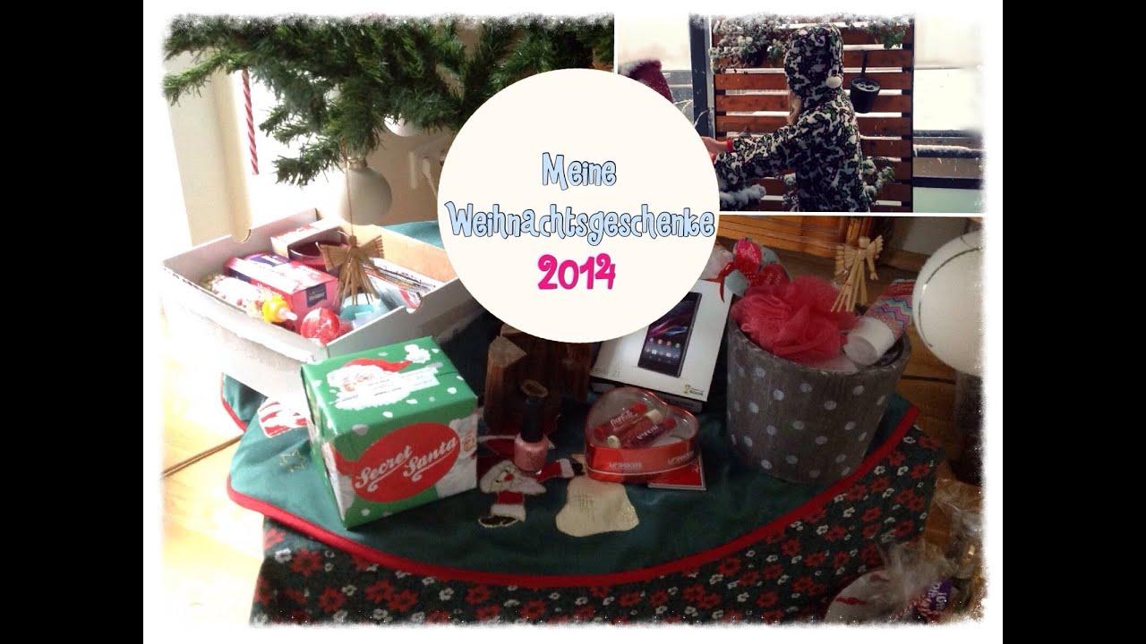 Meine Weihnachtsgeschenke 2014! 🎅🎄🎁 - YouTube