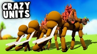 The Craziest Units That Are Coming To TABS! (Totally Accurate Battle Simulator Update)