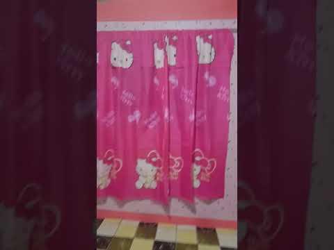 My Hello Kitty Wallpaper Room Youtube