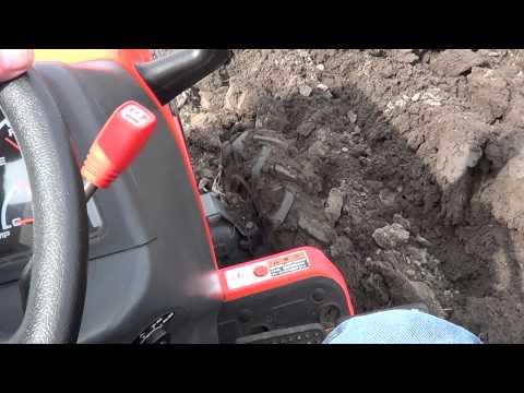 Kubota tractor GB 13 ploughing