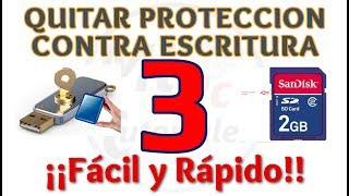 Tutorial Como Quitar Proteccion Contra Escritura de Disco Duro o Memoria USB | Método 3