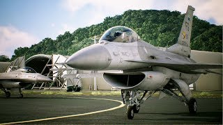 WAR - INVASION BEGINS | Ace Combat 7 Skies Unknown | PS4 | Mission #1 F-16C Gameplay