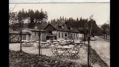 Thuringian forest Thüringer Wald Finsterbergen damals & heute