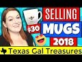Mugs Sold on Ebay and Etsy 2018 - Make Money Selling Mugs Online