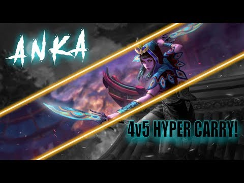 Anka 4v5 Hyper Carry! - Vainglory 5v5