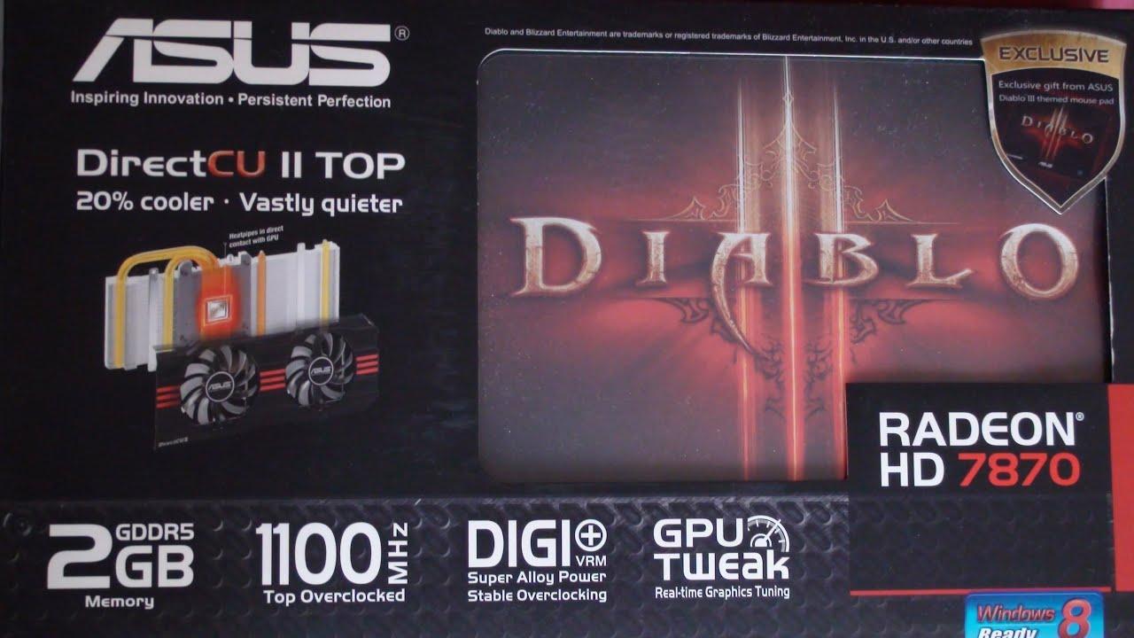 ASUS ATI RADEON HD 7870 HD7870-DC2TG-2GD5-V2 DRIVERS FOR WINDOWS 10