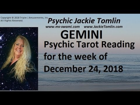 gemini tarot december 24 2019