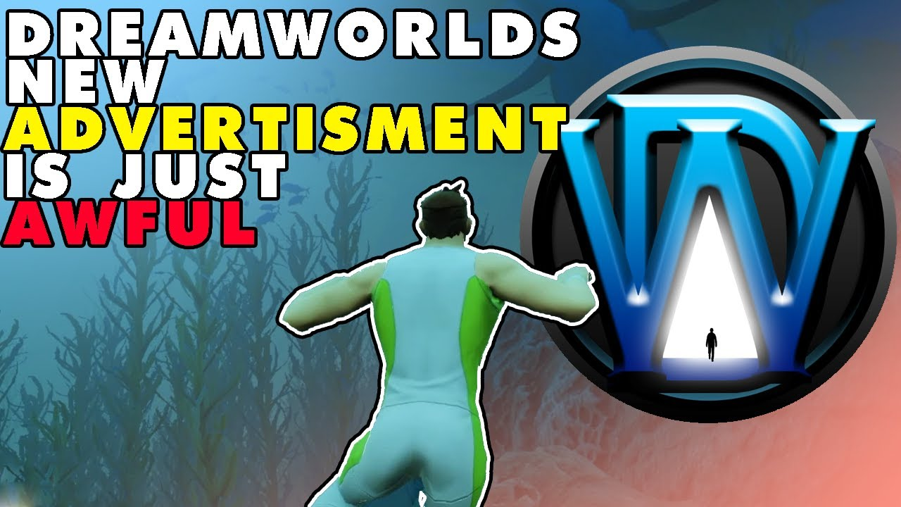 Download DreamWorld - A new advertisement and green screens
