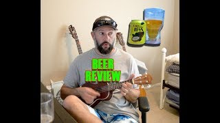 Dogfish Lupa Luau Beer Review - Ukulele Cover Riptide Vance Joy