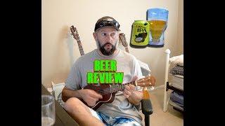 Dogfish Lupa Luau Beer Review - Ukulele Cover Riptide Vance Joy