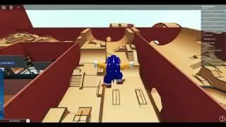Sonic on Roblox won race