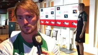 Jannik Pohl bij FCG radio over zijn transfer naar FC Groningen