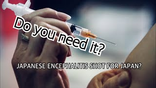 The Japanese Encephalitis Vaccine Question: Do you need it to visit Japan?
