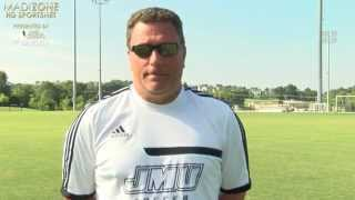 2015 JMU Men's Soccer - HC Tom Foley Preseason - 8/27/15