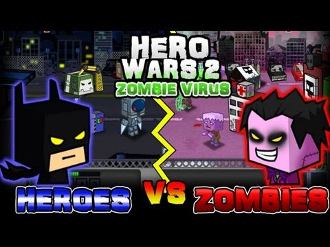 Hero Wars 2: Zombie Virus - iPhone/iPod Touch/iPad - HD Gameplay Trailer