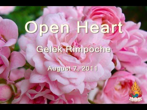 Gelek Rimpoche: Open Heart  August 7, 2011