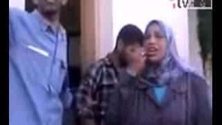 شاهد هروب موظفي و أمن كليه الدراسات الإسلاميه بعد التعدي علي الطالبات بالضرب