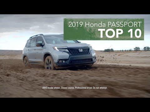 Top 10 Reasons to Buy the 2019 Honda Passport