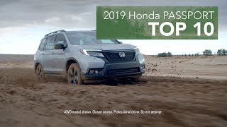 Top 10 Reasons to Buy the 2019 Honda Passport
