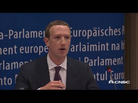 Zuckerberg: Regulation On Tech Companies 'Inevitable' | CNBC