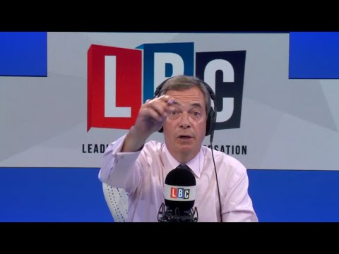 The Nigel Farage Show: Should EU citizens be given the right to remain? LBC - 20th Aug 2018