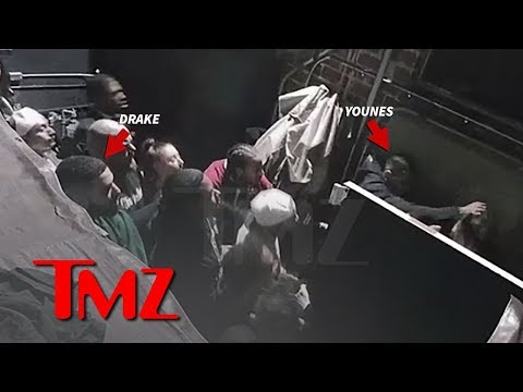 Drake Watches Kourtney K's Ex Younes Bendjima Brutally Attack Man | TMZ