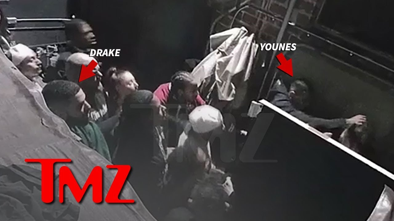 Younes Bendjima Viciously Attacks Man Outside Of Nightclub As Drake Looks On  Shocking Video