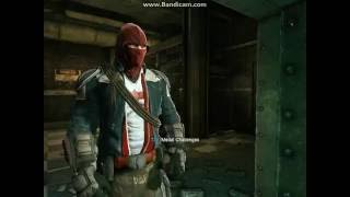 Batman Arkham Origins Red Hood Mod Gameplay #1