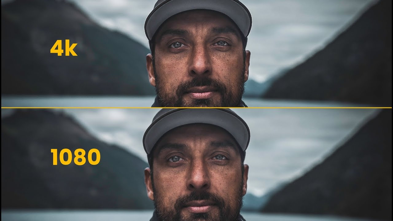 Download 4k VS 1080 - What you need to know about RESOLUTION