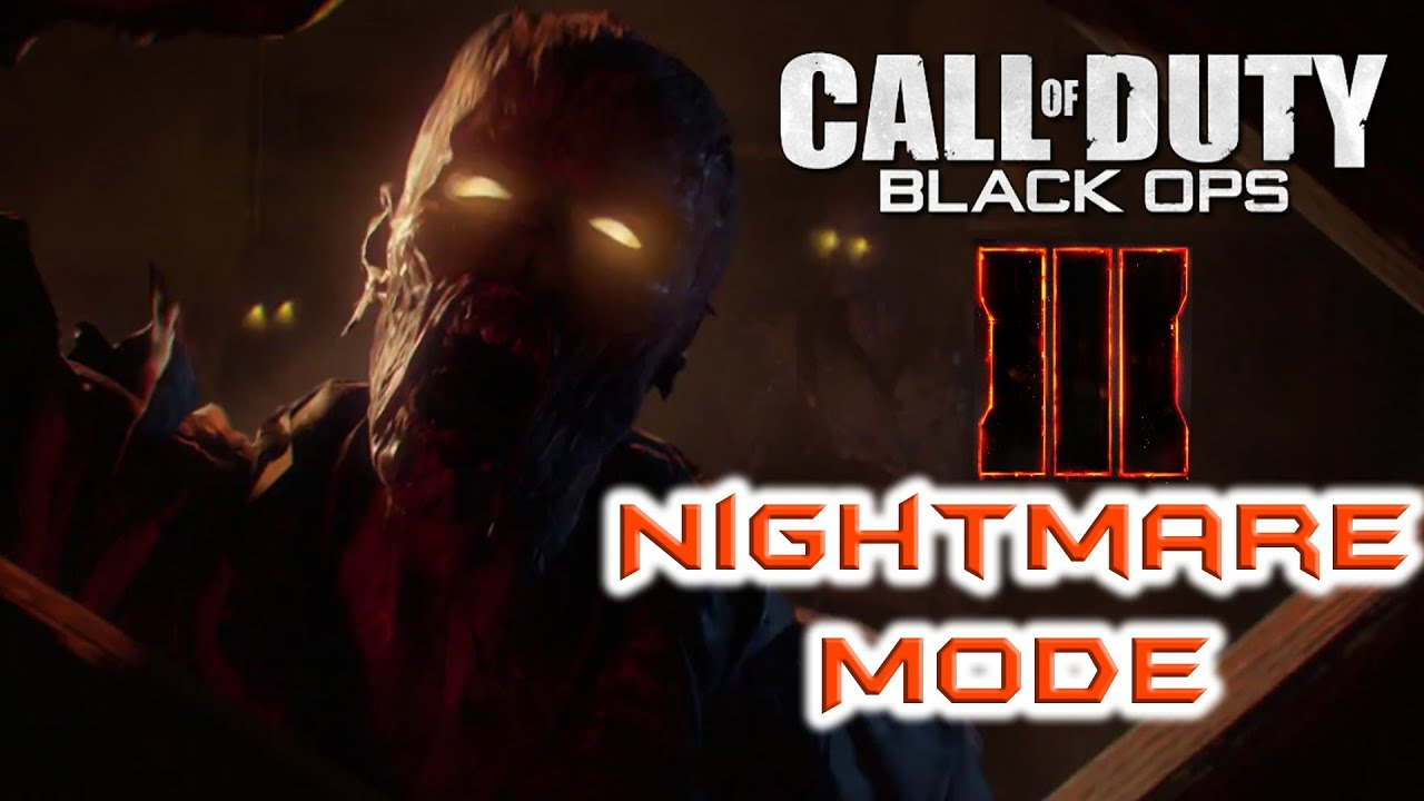 call of duty black ops 3 let 39 s talk about nightmare mode. Black Bedroom Furniture Sets. Home Design Ideas